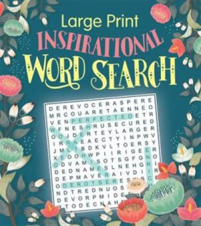 Inspirational Large Print Wordsearch