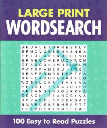 Classic Large Print Wordsearch by Various