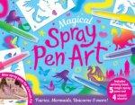 Activity Station Gift Box Magical Spray Pen Art