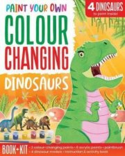 Paint Your Own Colour Changing Dinosaurs