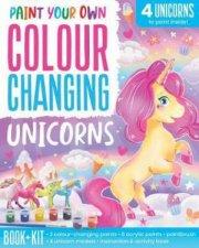 Paint Your Own Colour Changing Unicorns