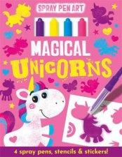 Magical Unicorns  Spray Pen Art