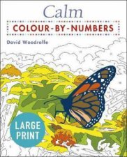 Calm Large Print Colour By Numbers