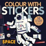 Colour With Stickers Space