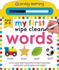 My First Wipe Clean Words