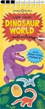 Wipe Clean Dinosaur World Activities