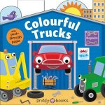 Colourful Trucks Tiny Tots Peep Through