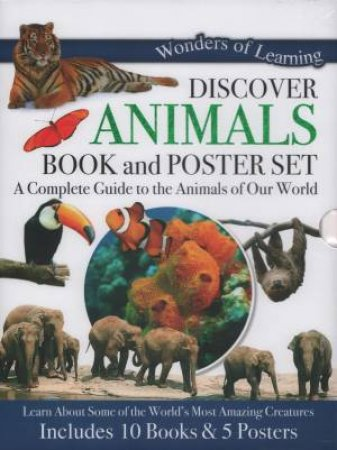 10 Book & Poster Slipcase Set: Animals by Various