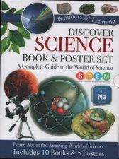 10 Book  Poster Slipcase Set Science