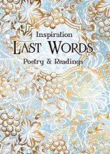 Last Words Poetry And Readings