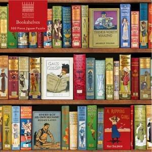 Jigsaw: Bodleian Libraries, Three Shelves (500-Piece)
