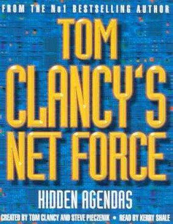 Hidden Agendas - Cassette by Tom Clancy & Steve Pieczenik