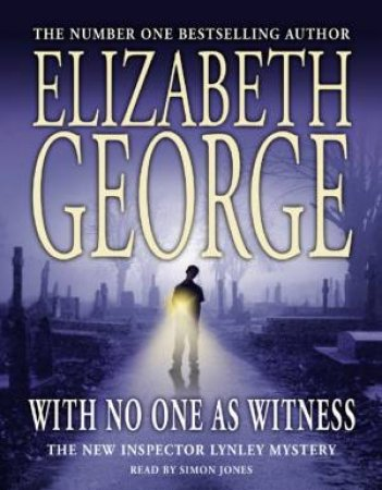 With No One As Witness - Cassette by Elizabeth George