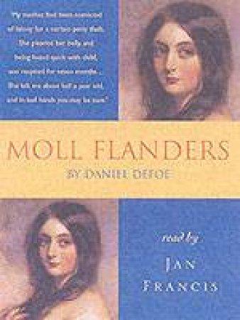 Hodder Audio Classics: Moll Flanders - Cassette by Daniel Defoe