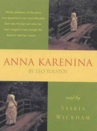 Hodder Audio Classics: Anna Karenina - Cassette by Leo Tolstoy