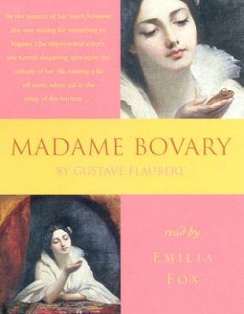 Madame Bovary - Cassette by Gustave Flaubert
