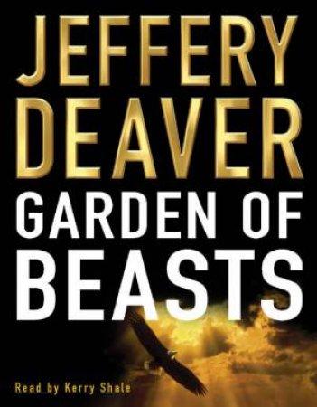 Garden Of Beasts - Cassette by Jeffery Deaver