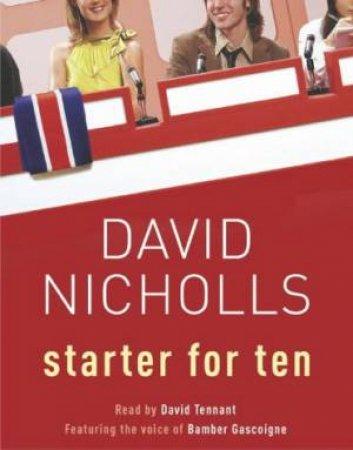 Starter For Ten - CD by David Nicholls