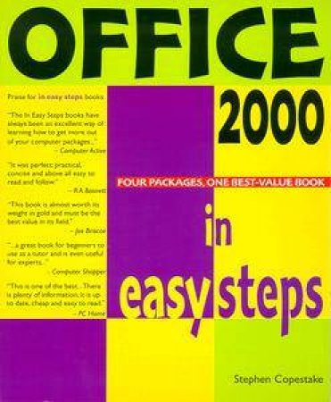 Office 2000 In Easy Steps by Stephen Copestake
