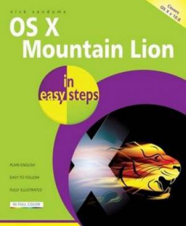 Mac OS X Mountain Lion in Easy Steps