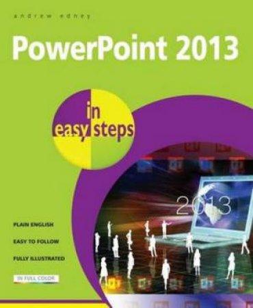 PowerPoint 2013 in Easy Steps