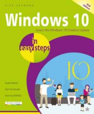 Windows 10 In Easy Steps 3rd Ed by Nick Vandome