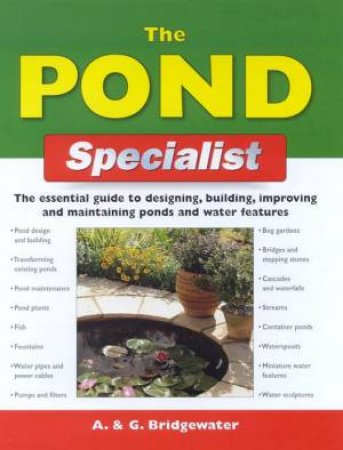 DIY: The Pond Specialist by A & G Bridgewater