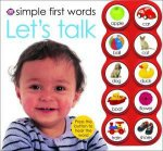 Simple First Words Lets Talk