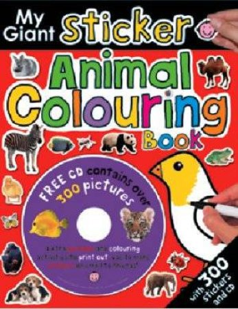My Giant Sticker Animal Colouring Book by My Giant Sticker