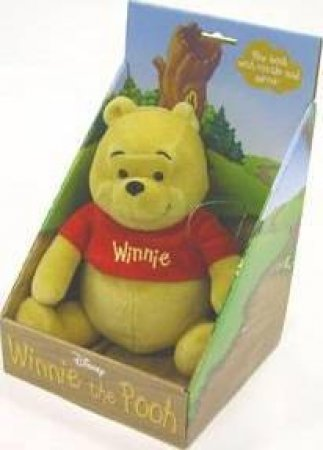 Winnie The Pooh Cloth Book: Plush Toy With Rattle And Mirror by Unknown