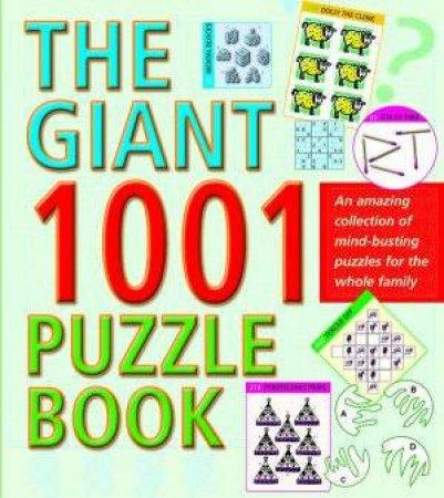 Giant 1001 Puzzle Book by Robert Allen