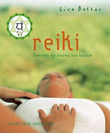 Reiki by Sandi Leir-Shuffrey