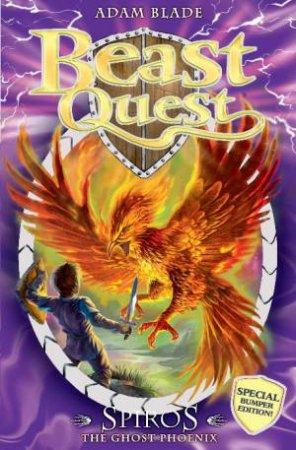 Spiros The Ghost Phoenix by Adam Blade