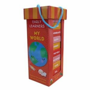 Early Learning Book Tower: My World
