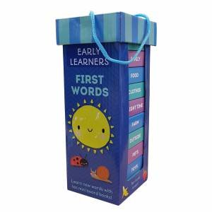 Early Learning Book Tower: First Words