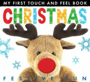 My First Touch and Feel Book: Christmas by Jonathan Litton