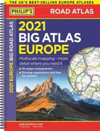 Philip's Big Road Atlas Europe