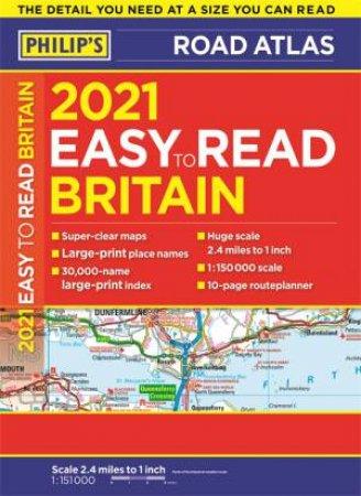 Philip's EasyRead Britain Road Atlas by Various