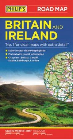 Philip's Britain And Ireland Road Map