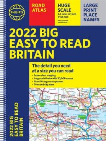 Philip's EasyRead Britain Road Atlas