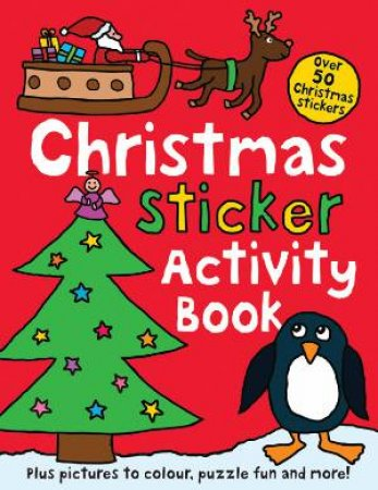 Christmas Sticker Activity Book by Various