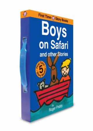 Boys On Safari And Other Stories by Time Story Books Slipcase First