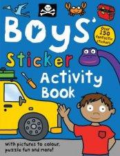 Boys Sticker Activity