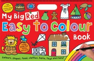 My Big Red Easy to Colour Book by Various