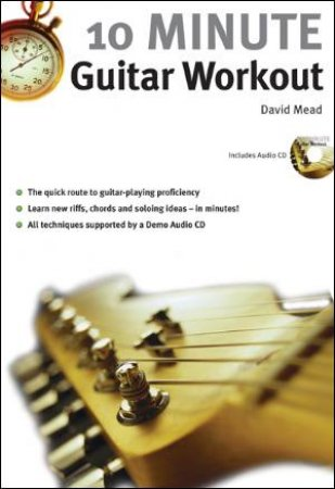 10 Minute Guitar Workout (Book & CD)