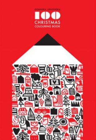100 Christmas Colouring Book