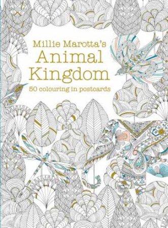 Millie Marottas Animal Kingdom Postcard Box By Marotta