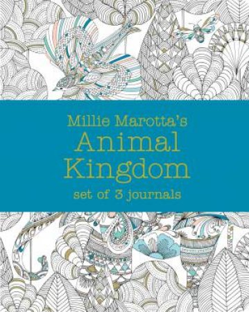 Millie Marotta's Animal Kingdom: Journal Set 3 Notebooks