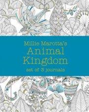 Millie Marotta's Animal Kingdom: Journal Set 3 Notebooks by Millie Marotta
