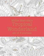 Millie Marotta's Tropical Wonderland Journal Set: 3 Notebooks by Millie Marotta